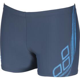 arena Spirit Shorts Men shark/turquoise